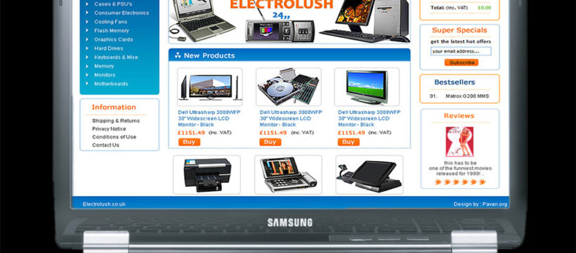 Ecommerce Website For Retail Business